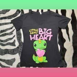 Little Arms Big Heart Dinosaur T-Shirt